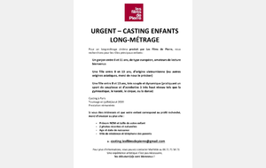 CASTING LONG METRAGE FILM DE PIERRE